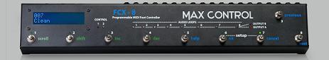 Pedalera controladora MIDI Max Control FCX-18
